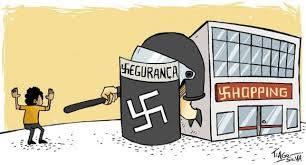 shopping segurança nazismo