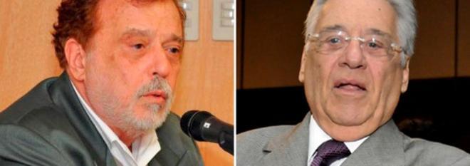 Theotonio dos Santos Júnio e Fernando Henrique Cardoso