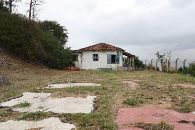 Casa na base de fuzileiros navais na Ilha Das Flores (RJ). O local foi identificado por ex-presos como local de tortura.