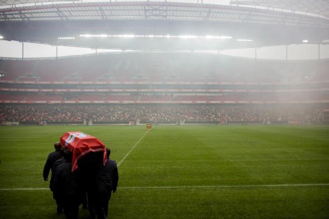 Cerimónias fúnebres de Eusébio - Volta ao Estádio da Luz e partida para a CML NUNO FERREIRA SANTOS