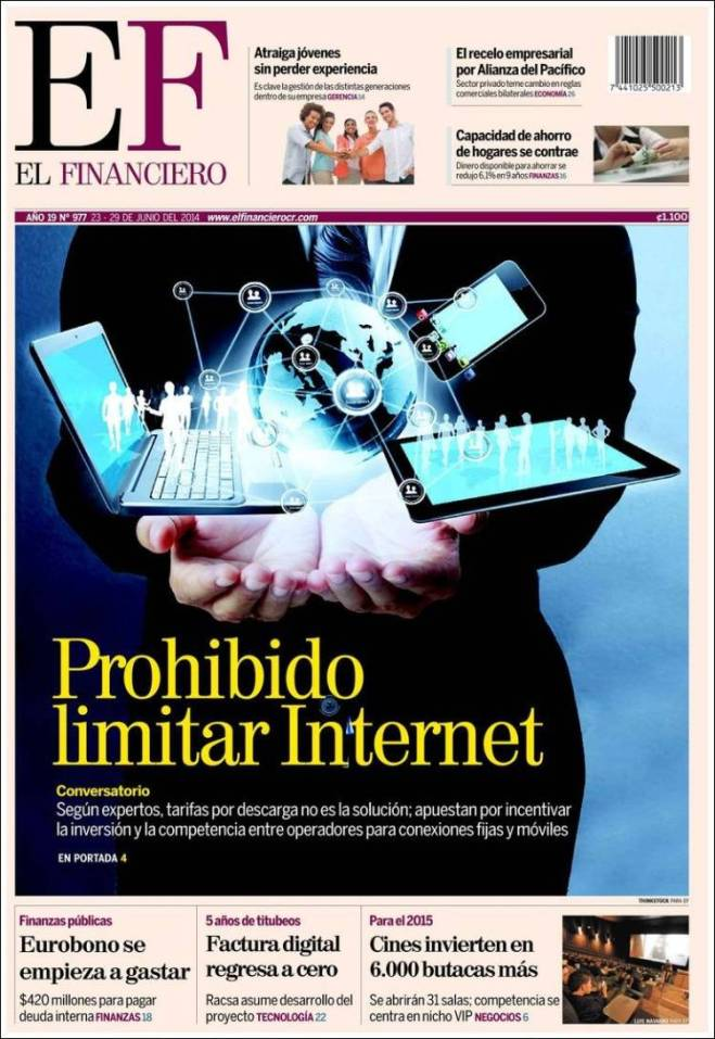 financiero.750 Costa Rica internet livre