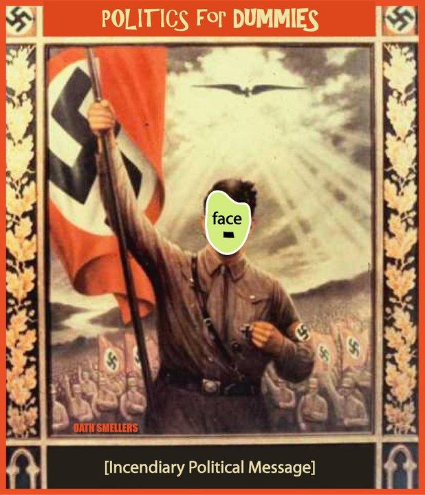 inndignados candidato nazista
