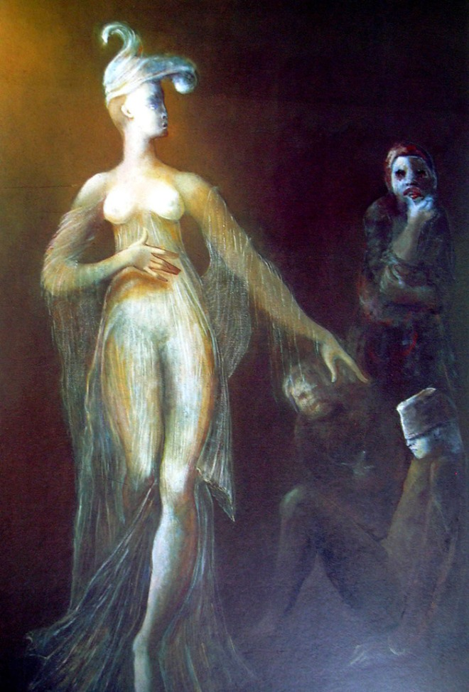 Themis, por Leonor Fini