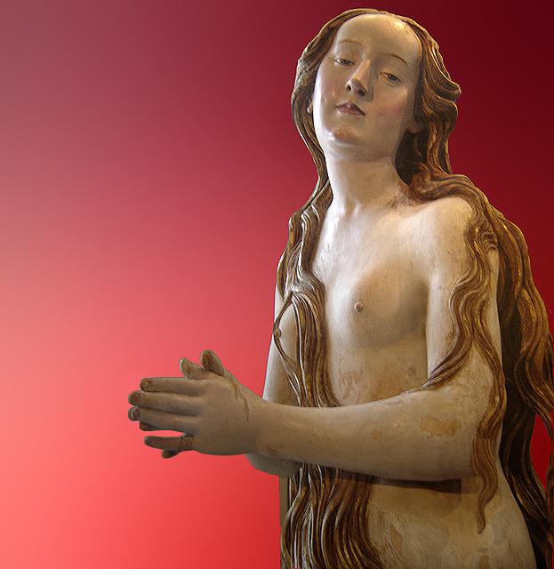 Maria Madalena, obra de Gregor Erhart. Louvre.