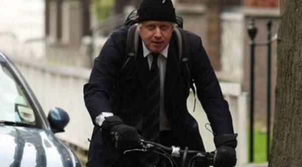 O prefeito de Londres de magrela