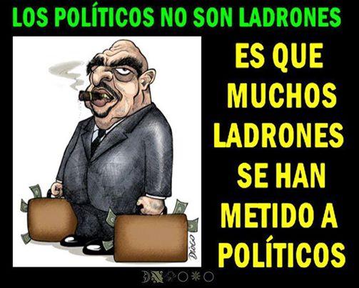 político ladrão corrupto