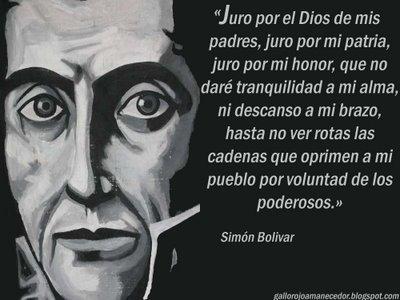 simon-bolivar escravidão do povo