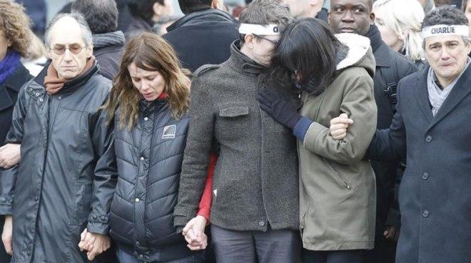 Familiares dos jornalistas assassinados
