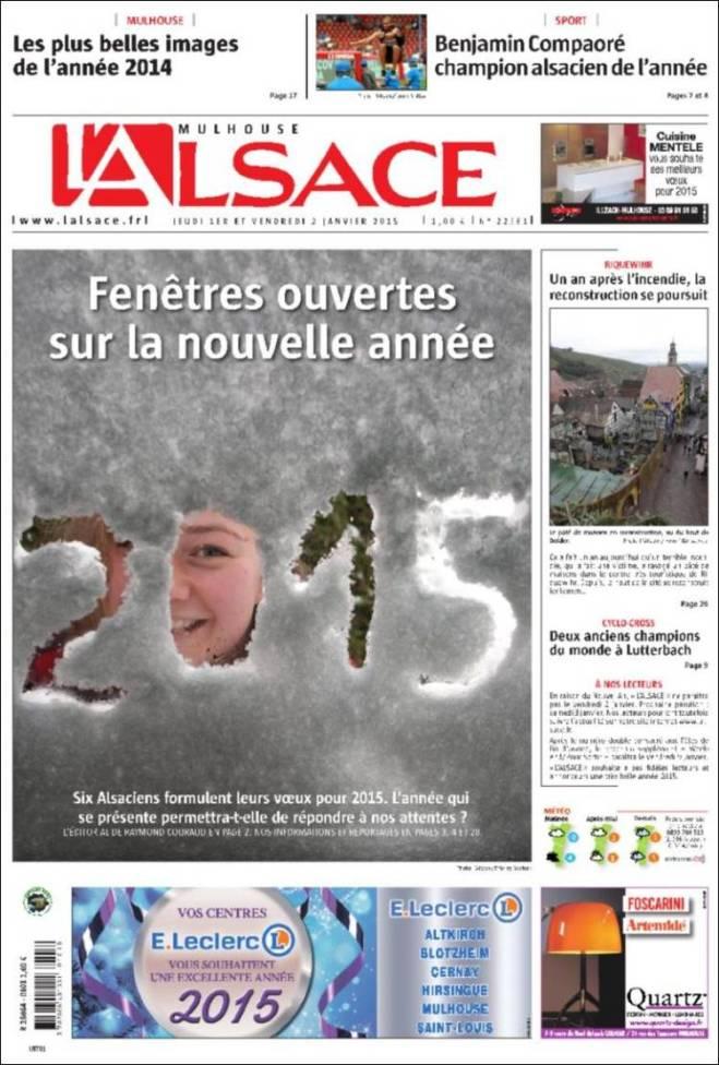 alsace. França 2015