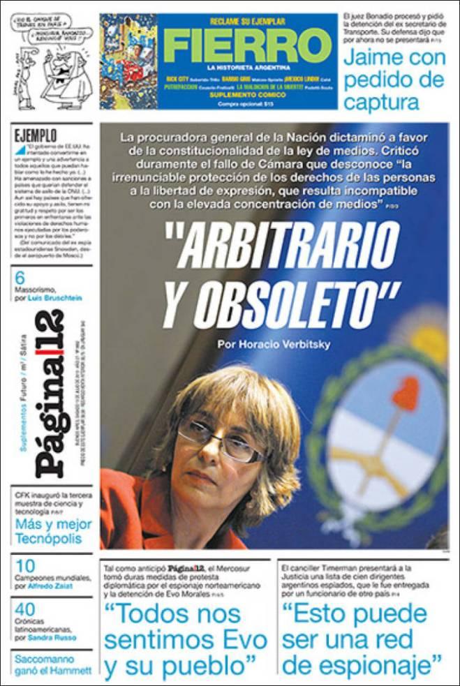O debate da lei dos meios na Argentina
