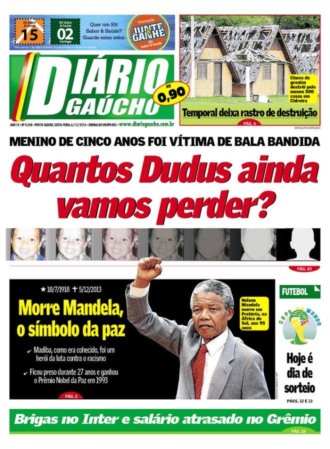 Manchetes costumeiras da imprensa brasileira