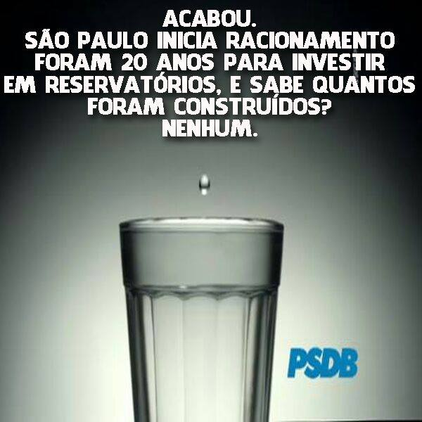 água sao paulo