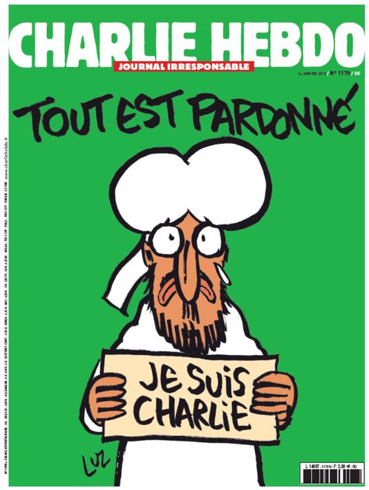 La « une » de « Charlie Hebdo » à paraître mercredi 14 janvier. | « Charlie Hebdo »