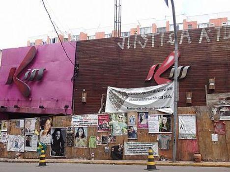 Fachada da boate Kiss foi limpa nesta semana para as homenagens de um ano do incêndio em Santa Maria