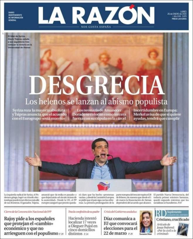 larazon. espanha populismo medo