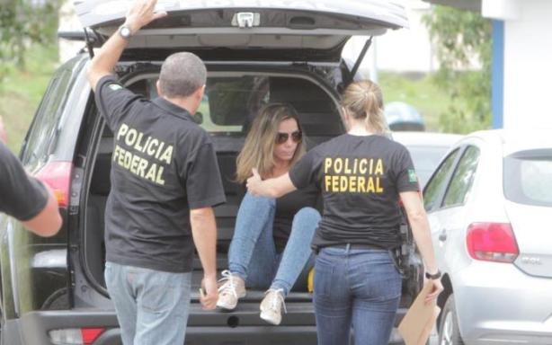 Marcelaine dos Santos Schumann foi encaminhada à Penitenciária Feminina. Foto Sandro Pereira