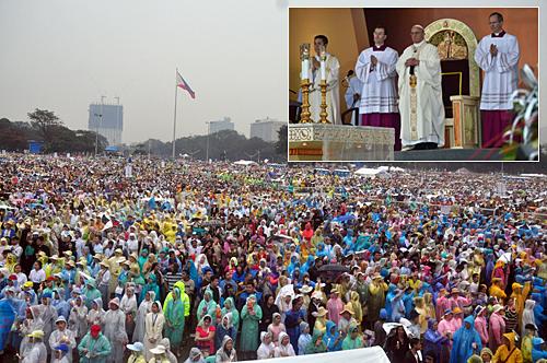 papa cinco milhões filipinos