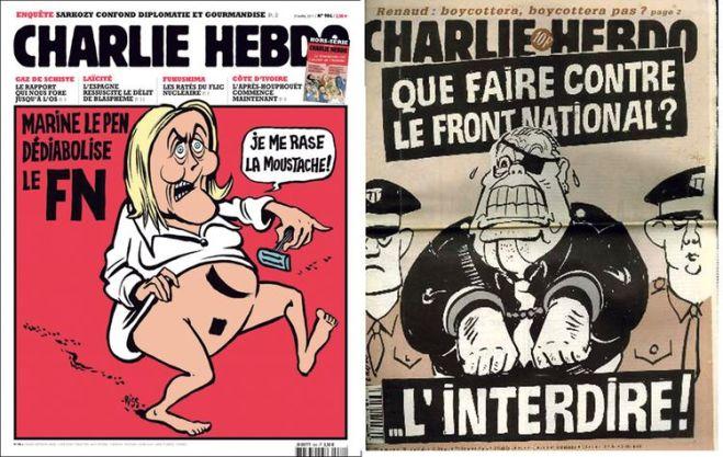 Pour «Charlie», voir le Front serait un affront (DR)