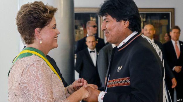 Presença de Dilma na posse de Evo Morales pode melhorar o relacionamento entre os dois países