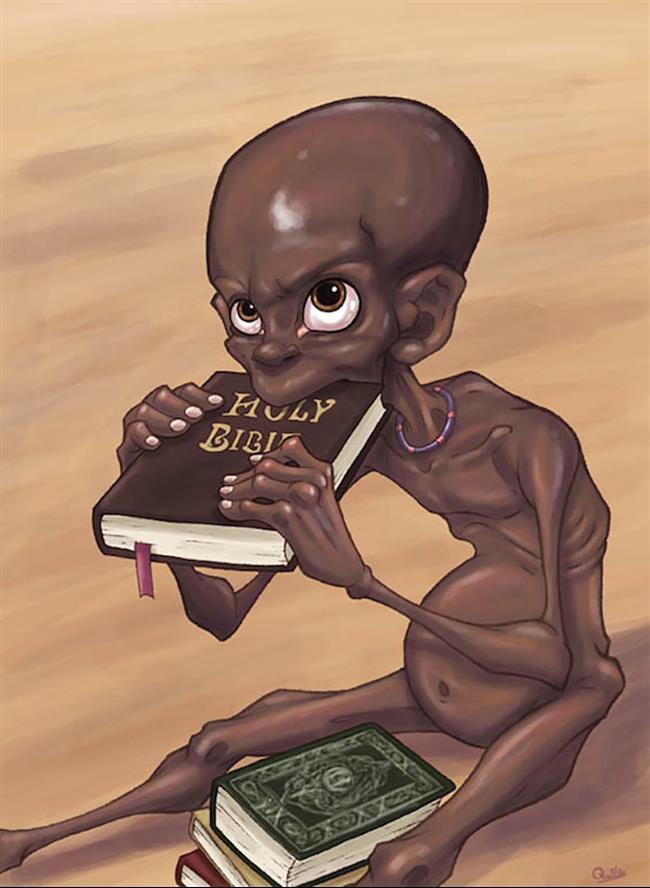 religião fome