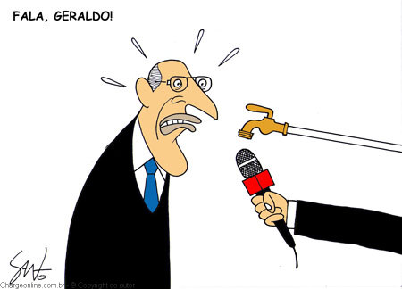 santo água alckmin