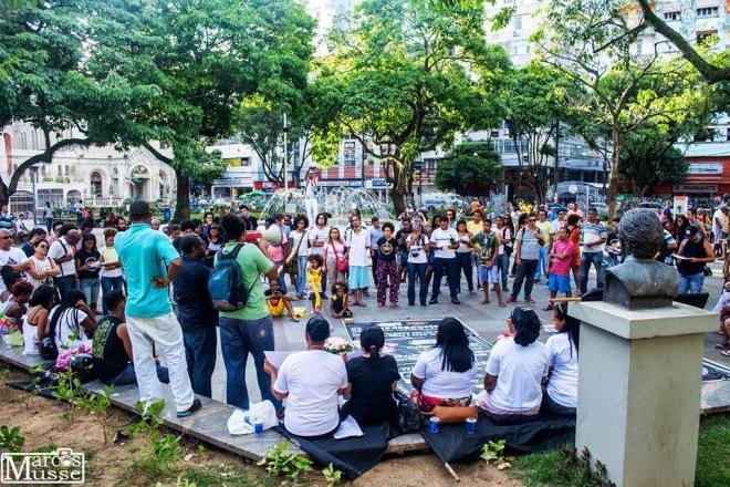 Ato Público contra Violência Policial dos Grupos de Extermínio e Desaparecimentos Forçados