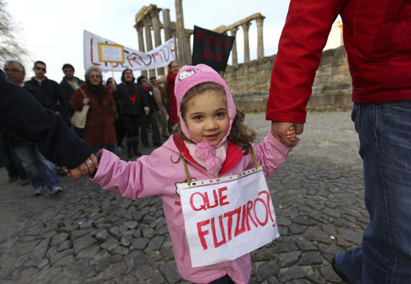 Evora: Rally against the austerity measures