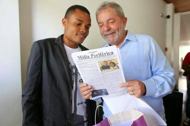 Enderson Araújo entrevista Lula