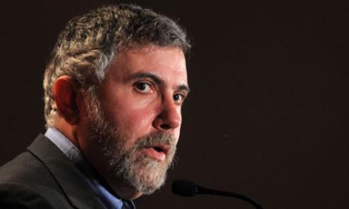"""Paul Krugman: """"Se a troika tivesse sido verdadeiramente realista, teria reconhecido que estava a exigir o impossível"""". Foto de Lou Gold"""
