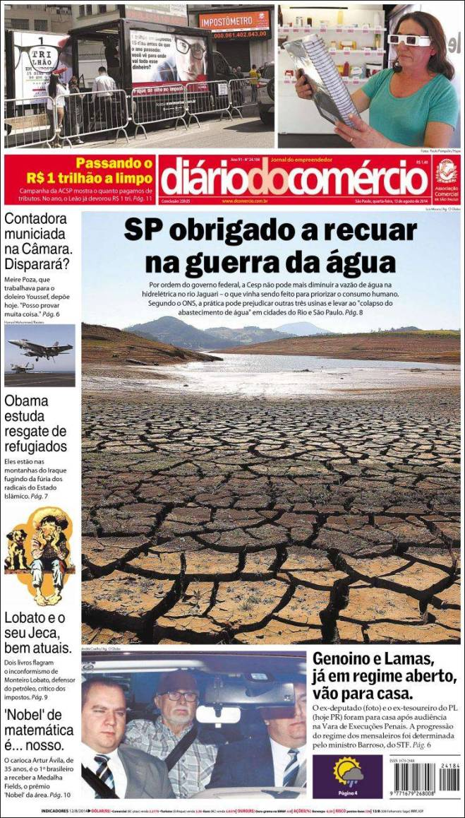 br_diario_comercio. SP água