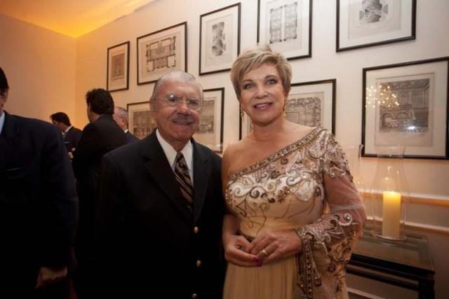 Com o ex-senador José Sarney