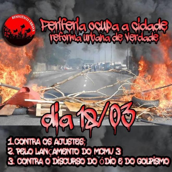 Brasil Post usa o seguinte cartaz para incendiar o noticiário