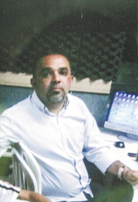 O radialista Patrício Oliveira foi morto no Centro da Cidade, quando trafegava em uma moto