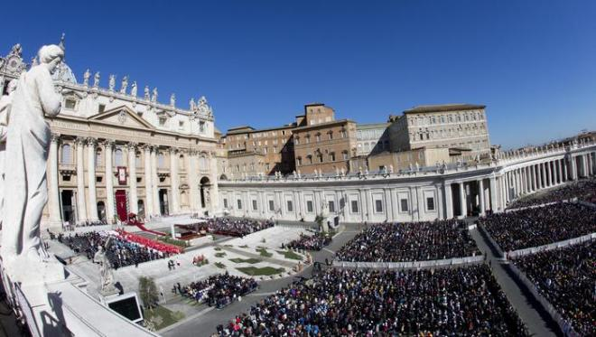 Pope Francis' mass of Palm Sunday