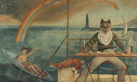 The Cat of La Mediterranee by Balthus
