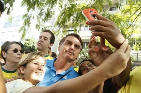Jair Bolsonaro, um candidato a presidente Daia Oliver: R7 SOS Forças Armadas. Foto