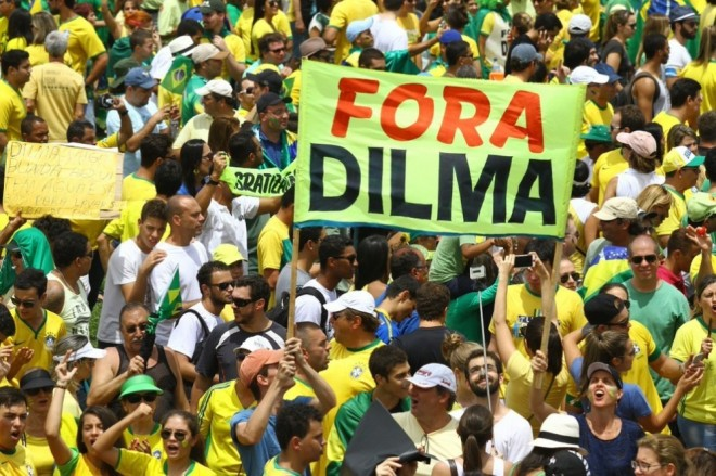 Foto de propaganda do Jornal de Brasília