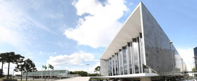 Luxuosa Assembléia Legislativa do Paraná