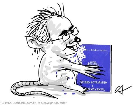 Eduardo Cunha e Paulinho da Força lideraram a aprovação do emprego terceirizado, indireto, precário e servil. Chaarge de Cao