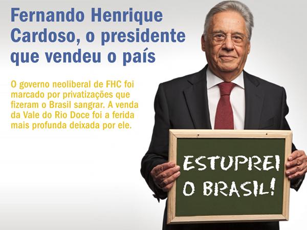 fhc estuprou o brasil