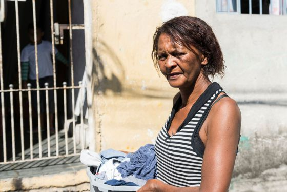 Mailsa Alves Moreira, de 49 anos. MARTHA LU