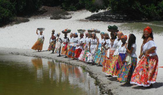 O grupo baiano 'As ganhadeiras de Itapuã'