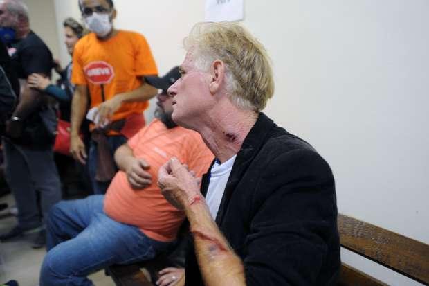 protestocuritibafotospublicas031 ferido