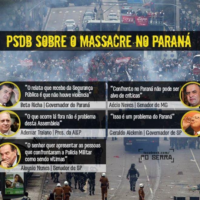 PSDB Paraná professor Richa