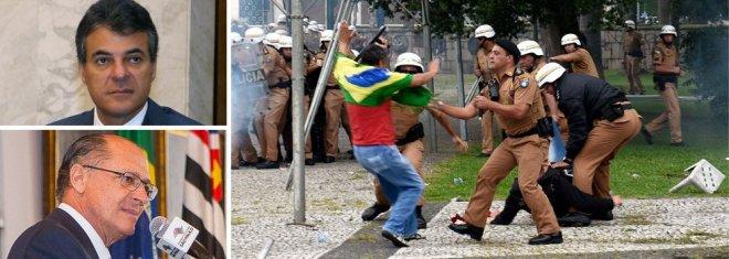 richa alckmin polícia