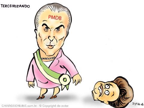 AUTO_jotaa temer degola dilma faixa presidencial