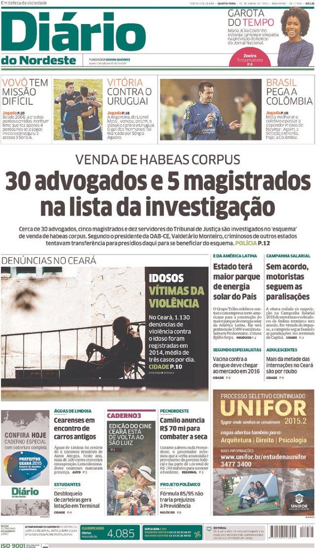 BRA_DN corrupção justiça Ceará
