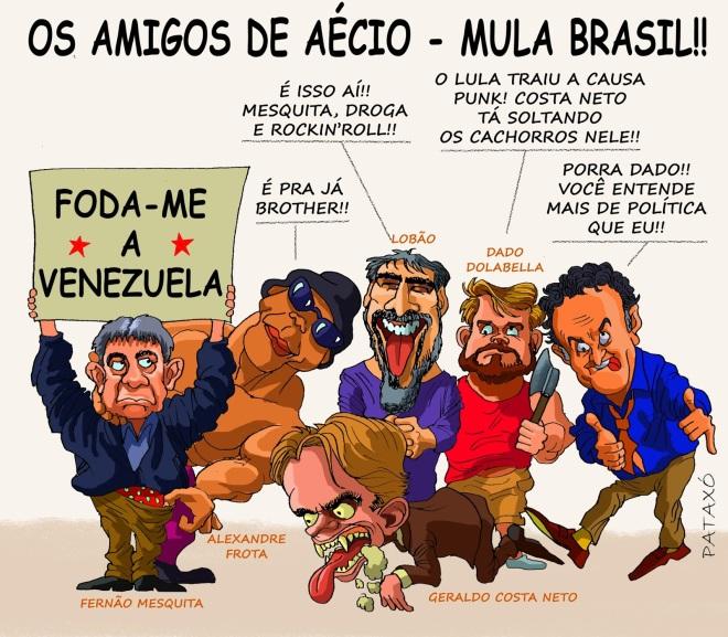 CartoonAmigosdeAecio foda-me venezuela