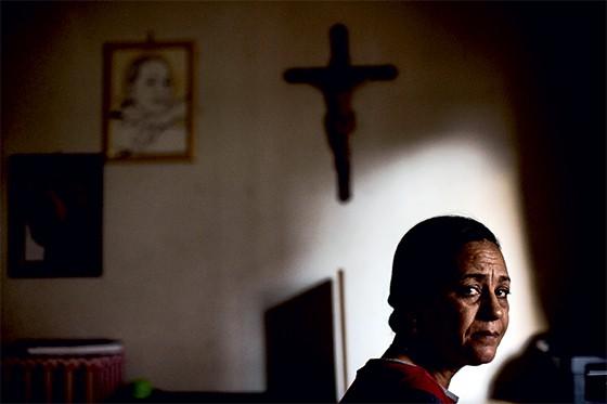 A VIÚVA Ilma Chaves Silva Borges,  mulher de Metzker. Os dois se conheceram num hospital de Montes Claros, onde ele trabalhara na área de suporte de informática (Foto: Leo Drumond/Nitro/Época)