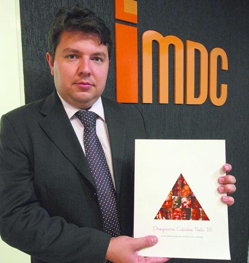 PRESO - Deivison de Oliveira, da organizaçaõ do IMDC, é apontado como chefe de uma quadrilha de desvios e recursos (Foto: Lucas Prates/Hoje em Dia)
